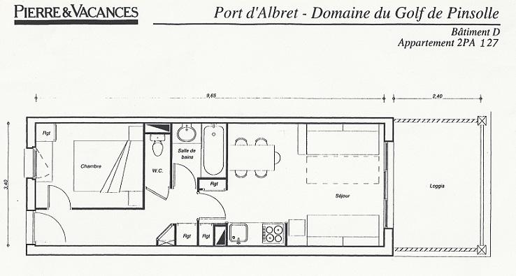 Location d 39 un appartement pierre et vacances soustons plage - Appartement de vacances styleshous design ...